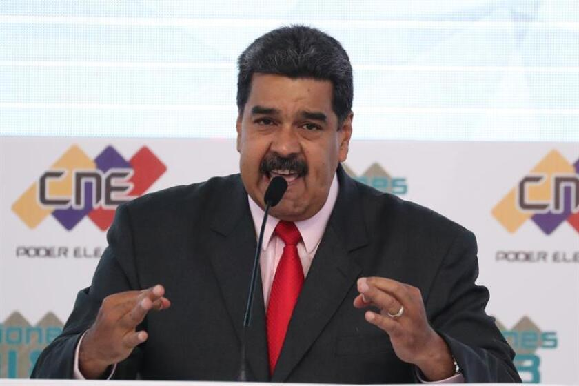 El presidente venezolano, Nicolás Maduro. EFE/Archivo