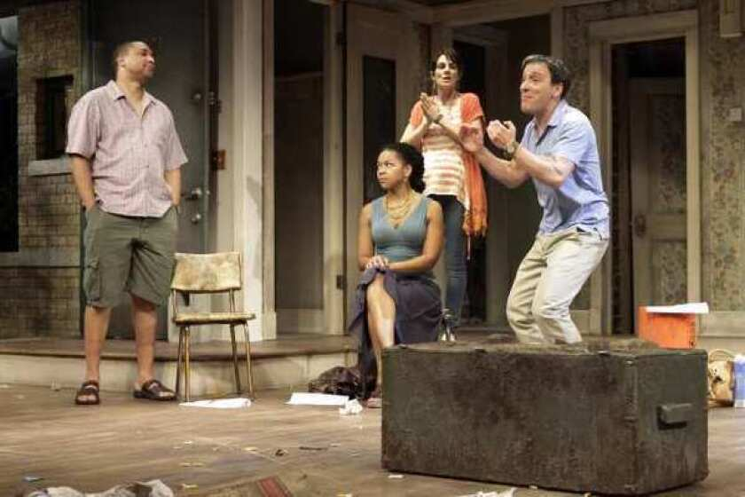 """A scene from """"Clybourne Park"""" at the Mark Taper Forum."""