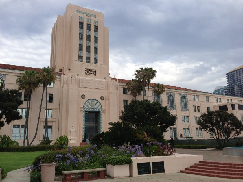 San Diego County Administration Building.