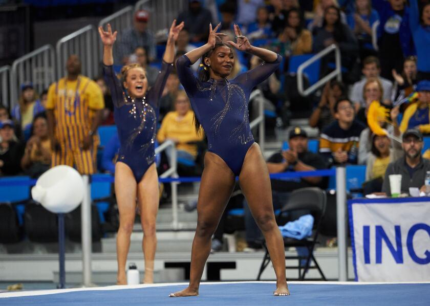 UCLA Gymnastics, Nia Dennis