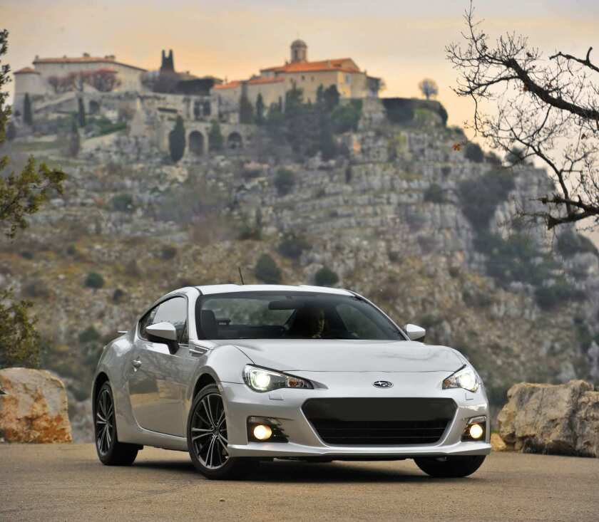 review 2013 subaru brz is an honest to goodness sports car los angeles times review 2013 subaru brz is an honest to