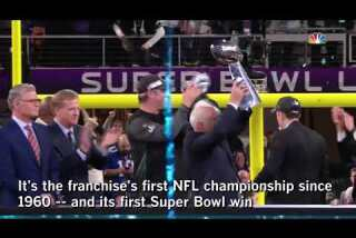 Eagles win first Super Bowl by dethroning Brady and the Patriots
