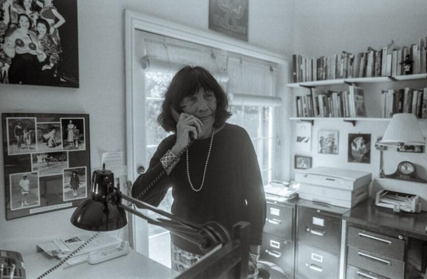 "Elizabeth ""Betita"" Martínez in her San Francisco home in 2002."