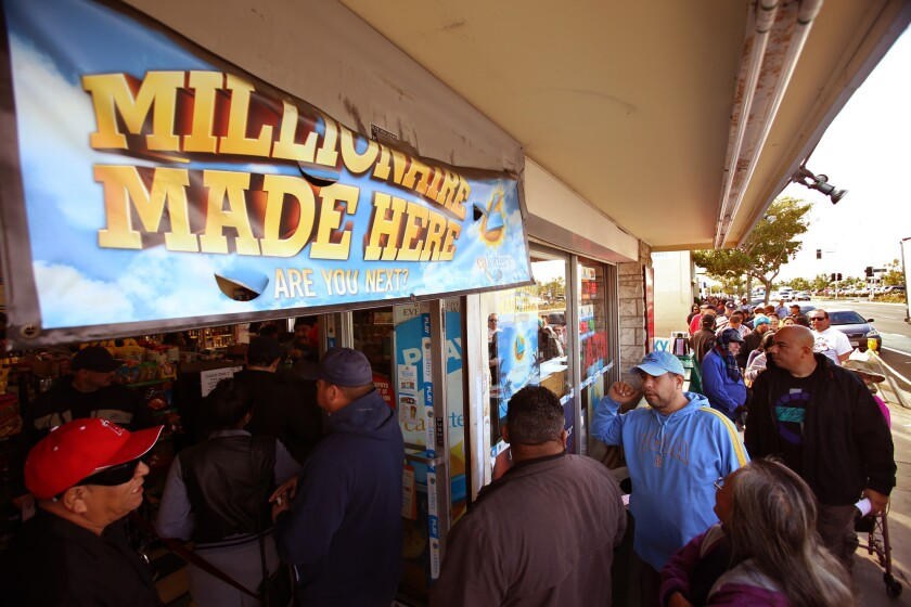 Powerball frenzy: 'It's a waste of money, but why not dream?'