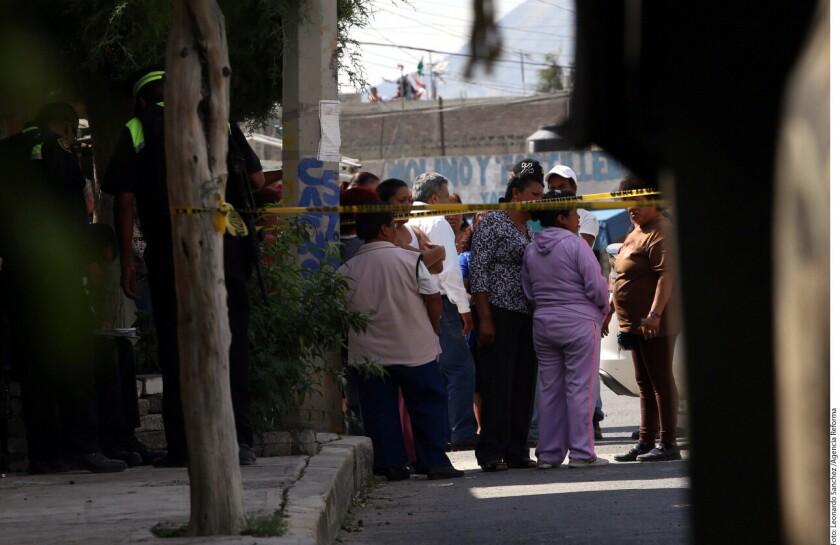 Foto de archivo sobre la violencia contra la mujer en México.