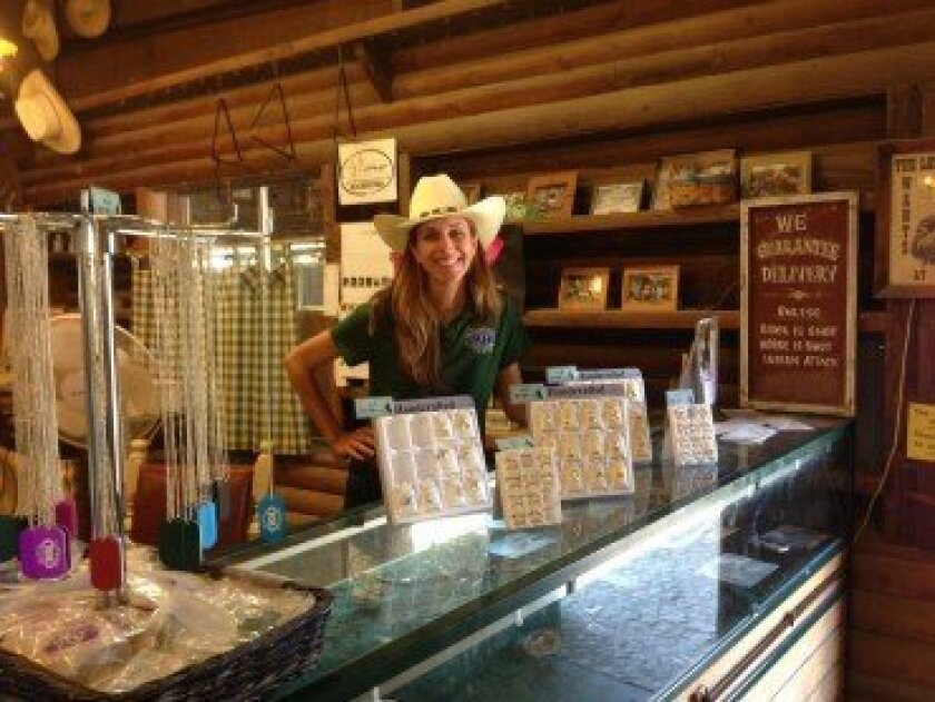 Melisse Mossy at Rawhide Ranch.  Courtesy photo