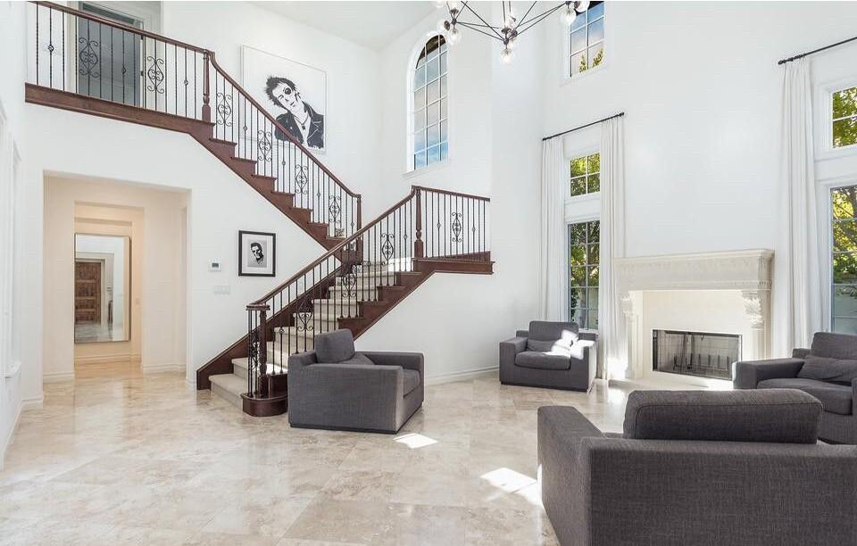 Travis Barker's Calabasas home