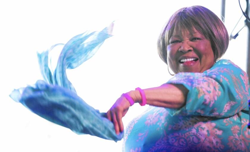 Mavis Staples performs April 15 at the Coachella festival. She'll be back there April 22.