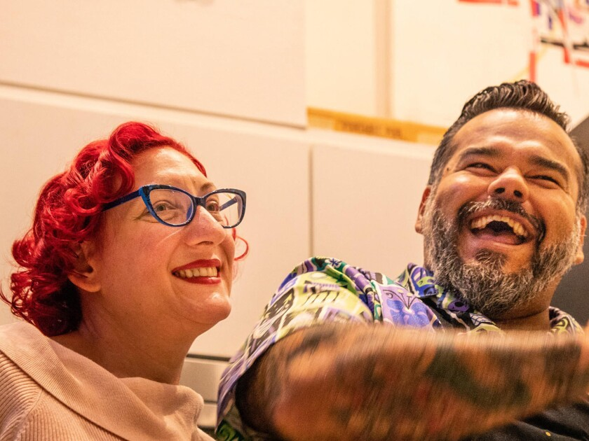 Chef Wes Avila and his wife Tanya Mueller