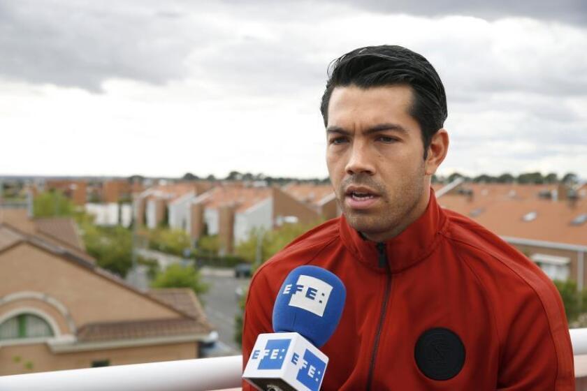 Nicolás Fedor, 'Miku', delantero venezolano durante una entrevista concedida a EFE/Archivo