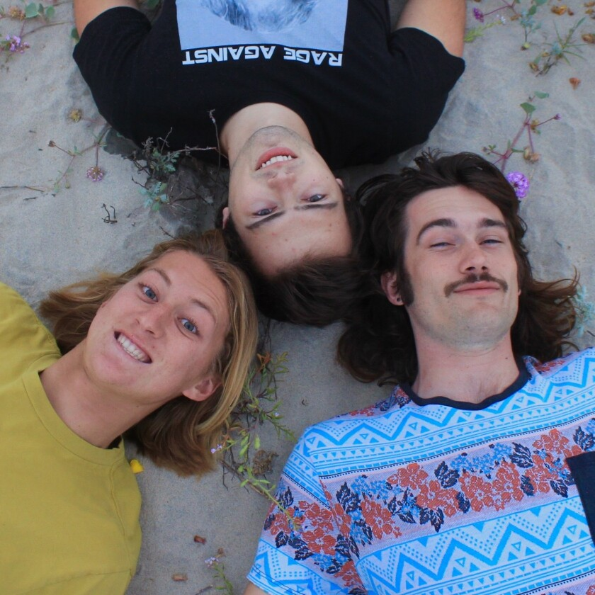 """Chorduroy, a three-piece indie surf-rock band, is getting attention for its breakout single, """"I Hate Surfing PB."""""""