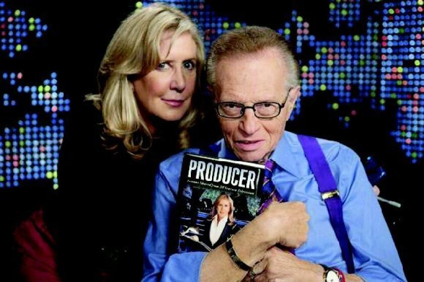 Wendy Walker and Larry King
