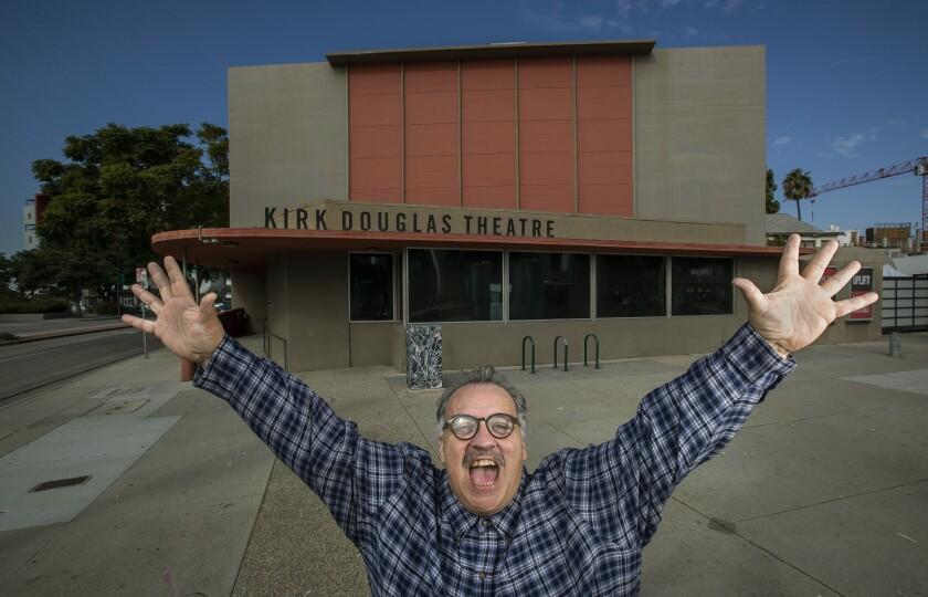 Playwright Luis Alfaro at the Kirk Douglas Theatre
