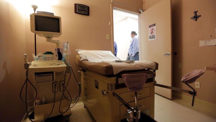 A procedure room at Whole Woman's Health of San Antonio in San Antonio, Tx. on Feb. 9, 2016.
