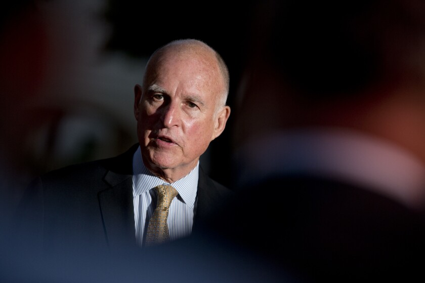 Gov. Jerry Brown signed six bills today, including one that legalizes Bitcoins as currency in California