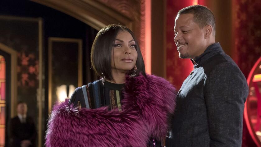 """Taraji P. Henson and Terrence Howard in """"Empire"""" on Fox."""