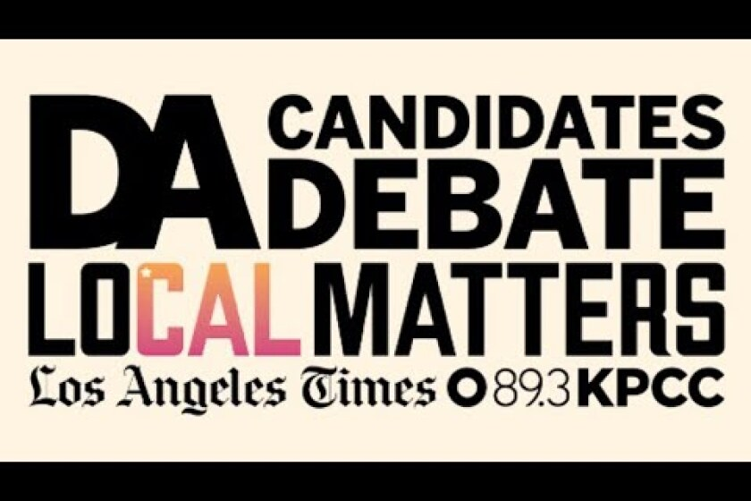 Kpcc And Los Angeles Times To Co Host Debate With Candidates For