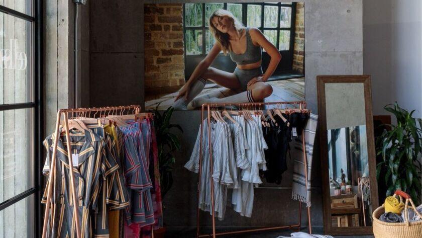 The Platform pop-up of Turkish lingerie brand Else.