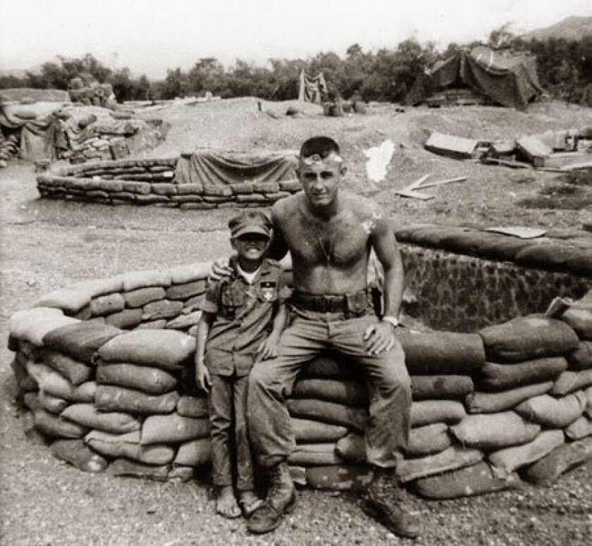Mike Neil of San Diego, who was deployed to Vietnam in 1967, befriended a Vietnamese boy whom his fellow Marines nicknamed GTO because he knew all the words to the song.  (Mike Neil)