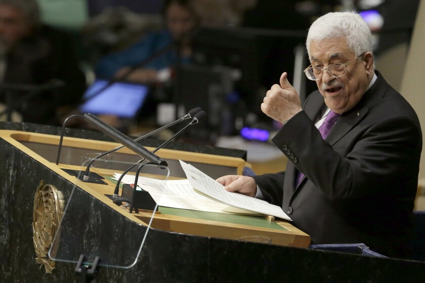 Mahmoud Abbas at U.N.