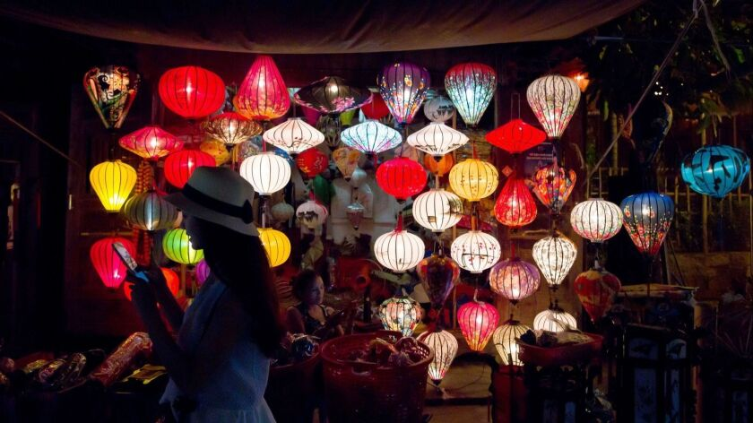 The tradition of lanterns dates back 400 years in Hoi An, Vietnam.