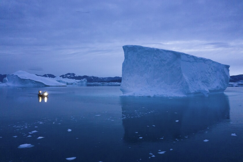 Greenland's glaciers are melting like never before