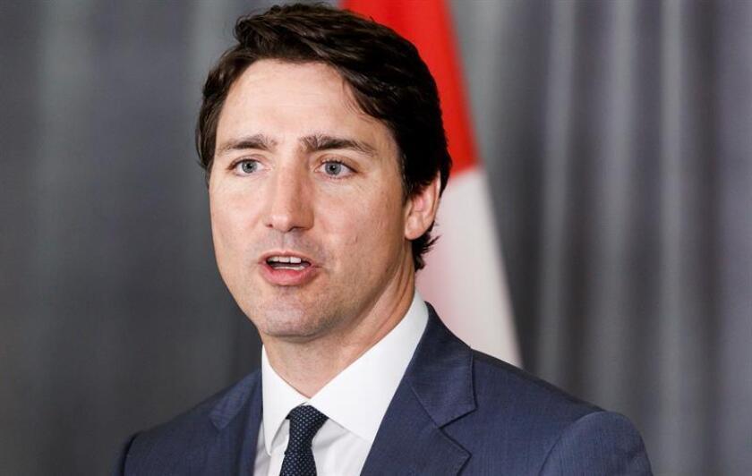 En la imagen, el primer ministro de Canadá, Justin Trudeu. EFE/Archivo
