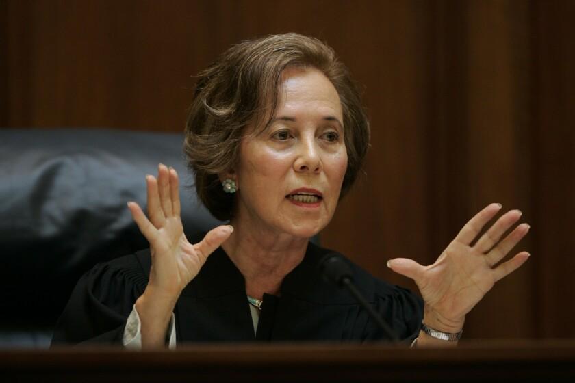 Supreme Court Justice Joyce L. Kennard