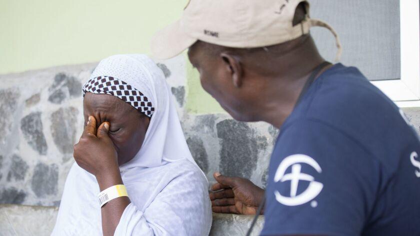 The Christian humanitarian aid organization Samaritan's Purse provides counseling to Ebola survivors.