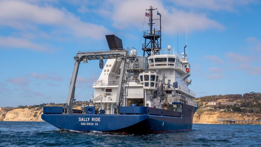 Research Vessel Sally Ride will investigate the workings within, upon and above Earth's oceans to help solve some of the planet's most pressing challenges.
