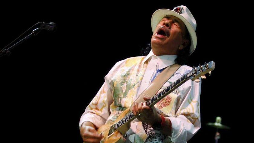 Santana announces 'Supernatural Now' tour, 50 years after
