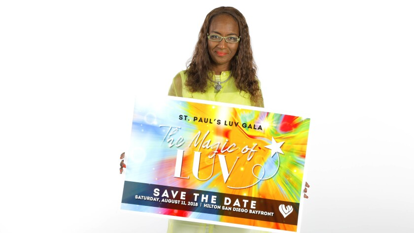 Eleanor Mohammed is the chair for the LUV (Love Uniting Volunteers) Gala this year, benefiting St. Paul's Senior Services. She provides home care for her mother, Gwyndolin, who has dementia and participates in St. Paul's senior day program.