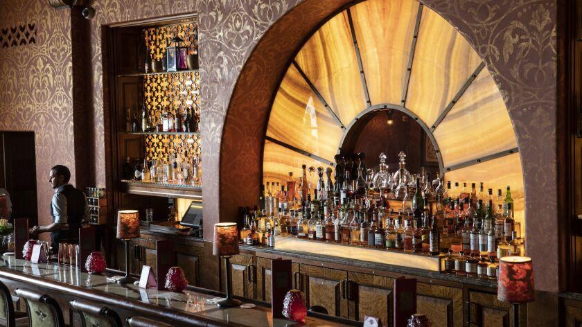 The Ty Lounge at the Four Seasons Resort the Biltmore Santa Barbara in Santa Barbara, Calif.