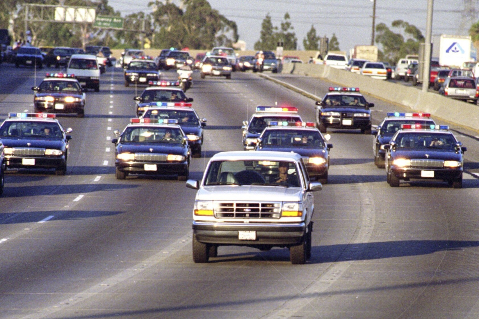 Image result for the people vs oj simpson bronco chase