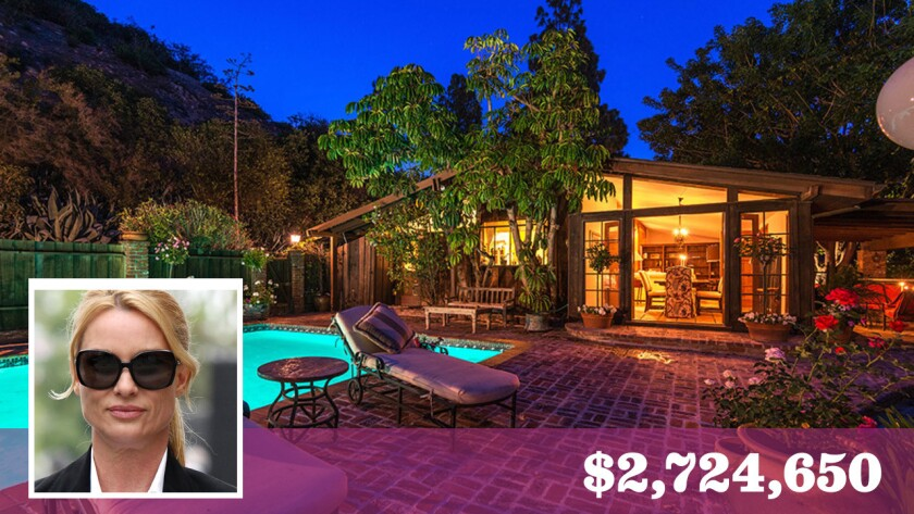 """""""Desperate Housewives"""" star Nicollette Sheridan has parted ways with a home in Bel-Air for about $2.72 million."""
