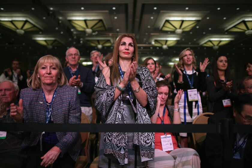 There were plenty of women in the audience on Friday, when Kentucky Sen. Rand Paul spoke to a standing-room-only crowd at CPAC. But women were underrepresented as featured speakers at the annual conservative gathering in National Harbor, Md.