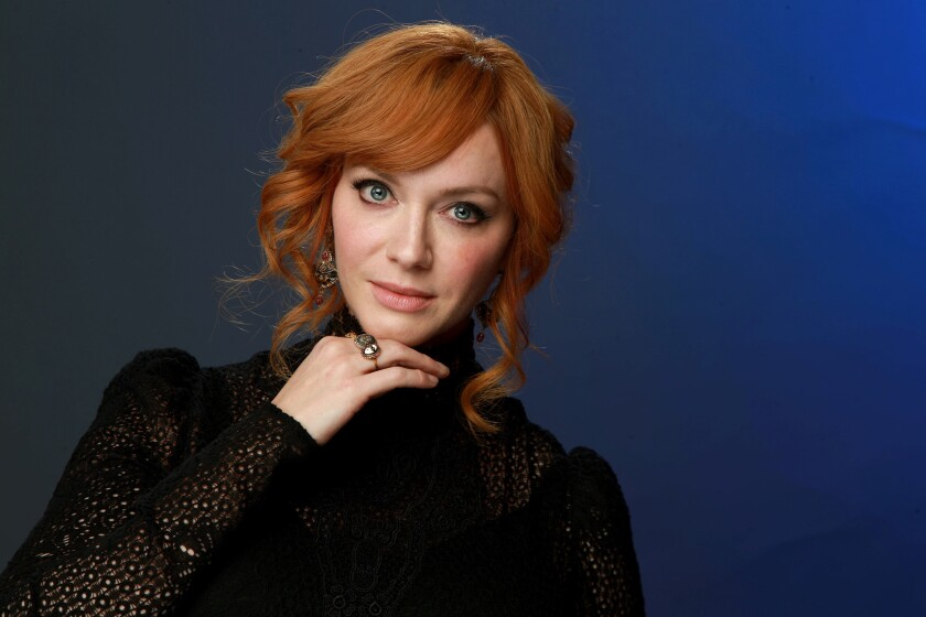 """Christina Hendricks describes """"Good Girls"""" as a real passion project."""