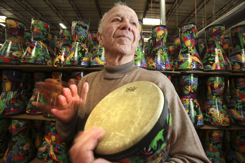 Remo Belli dies at 88; musician developed synthetic drumheads