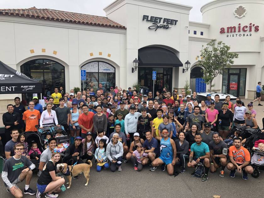 Fleet Feet brought the local running community together for Global Running Day.