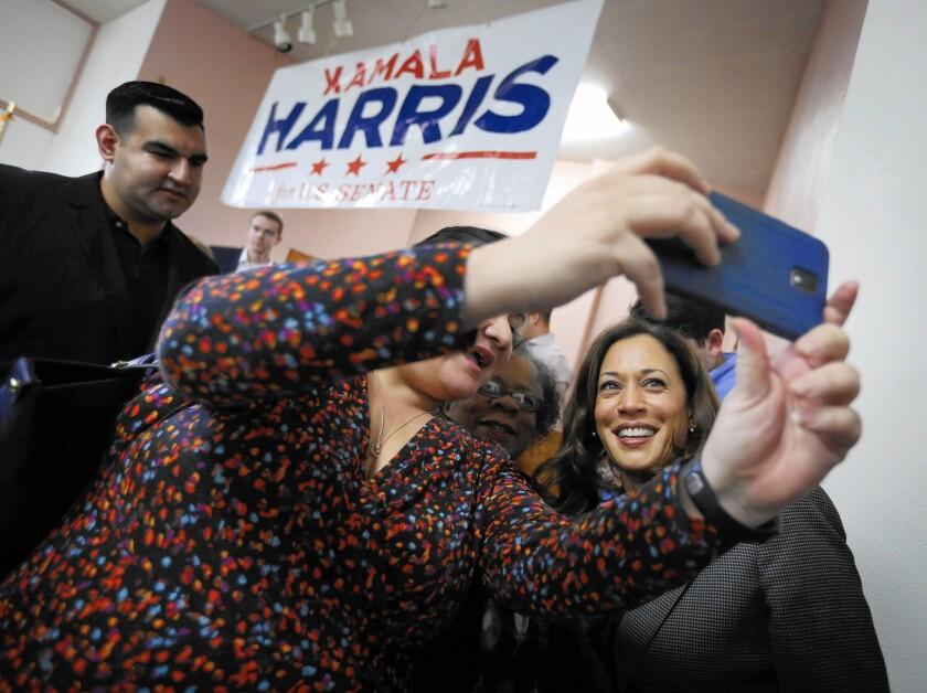 Kamala Harris campaigns in L.A.