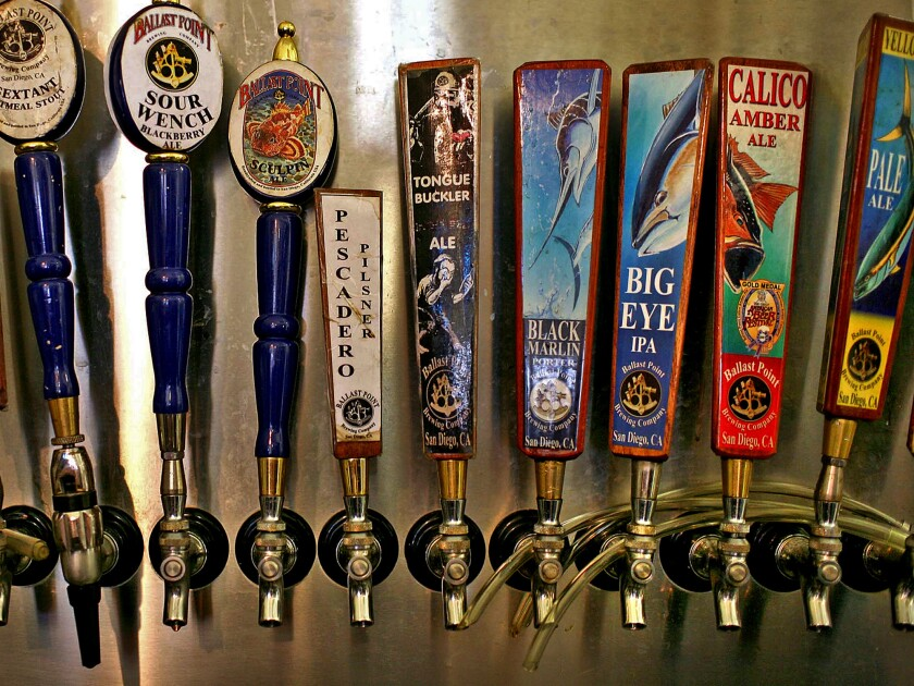 San Diego-based Ballast Point Brewing Co. had filed plans with the Securities and Exchange Commission to go public.