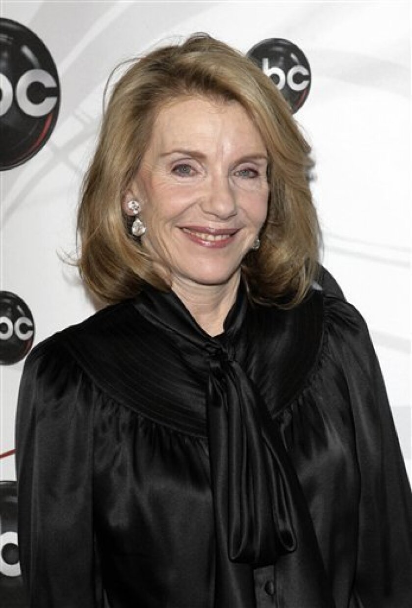 """FILE - In this May 15, 2007 file photo, Jill Clayburgh, star of """"Dirty Sexy Money"""" poses for photographers on the red carpet during the arrivals of ABC's 2007-2008 preview in New York. Jill Clayburgh, whose Broadway and Hollywood acting career stretched through the decades, highlighted by her Oscar-nominated portrayal of a divorcee exploring her sexuality in the 1978 film """"An Unmarried Woman,"""" died Friday, Nov. 5, 2010. She was 66. (AP Photo/Seth Wenig, File)"""