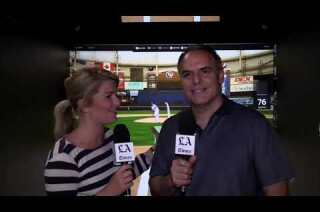 Watch: Virtual reality is latest technology introduced to baseball