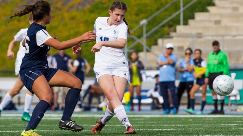 OLP's Ashlin Healy has helped the Pilots reach the SoCal Regional finals.
