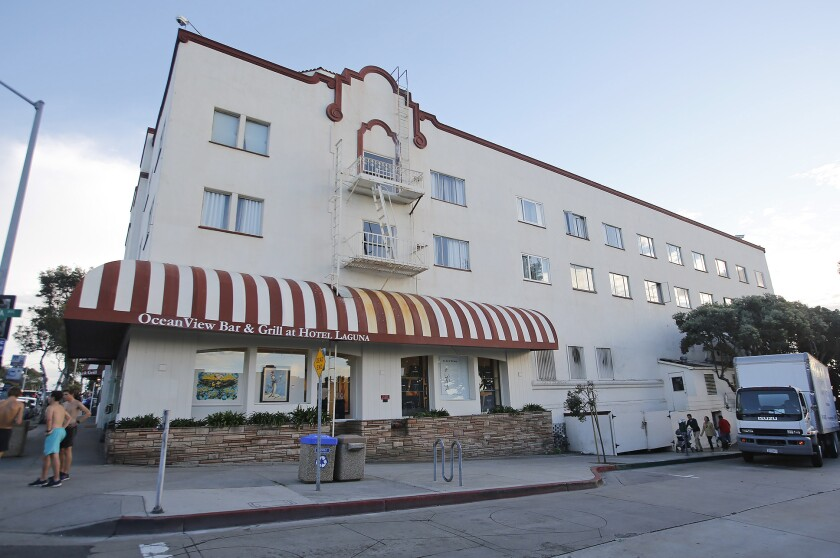 There is not an exact date in place yet for when the Hotel Laguna will have its reopening.