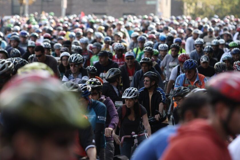 Riders in the annual Tour de Bronx will pedaling their way through that borough on Sunday, bringing traffic issues for people in cars.