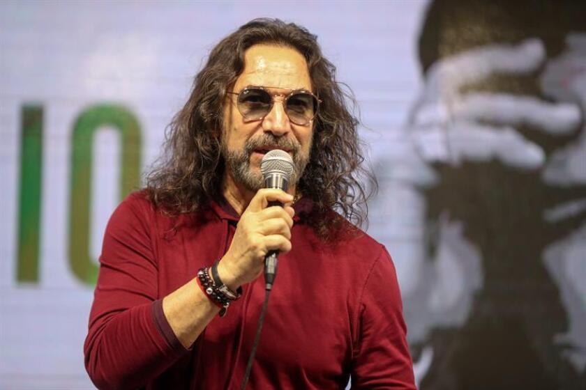 El cantante mexicano Marco Antonio Solís participa en una rueda de prensa hoy, martes 26 febrero de 2019, el día previo a realizar su concierto en el Festival Internacional de Viña del Mar (Chile). EFE