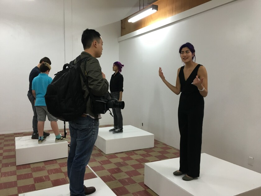 Emma Sulkowicz at Coagula Curatorial in Los Angeles