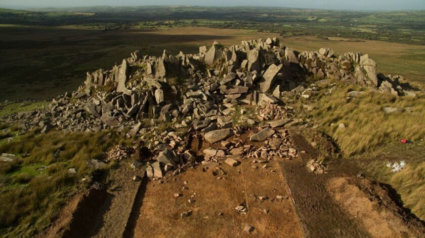 The Stonehenge quarry, Carn Goedog. MUST CREDIT: Handout courtesy of University College London ** Us