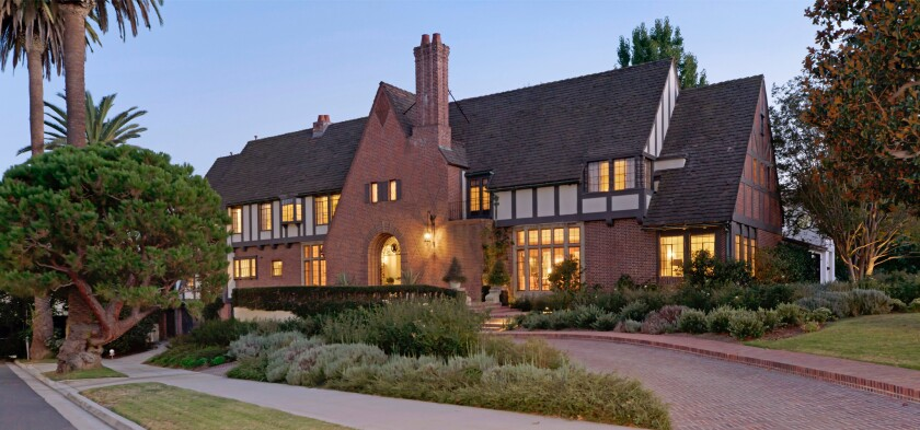 Tudor Revival home in Fremont Place
